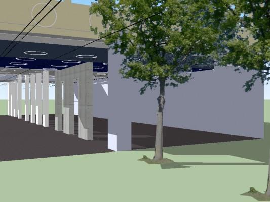 Image de synthèse du projet Réalisation prévue en 2015